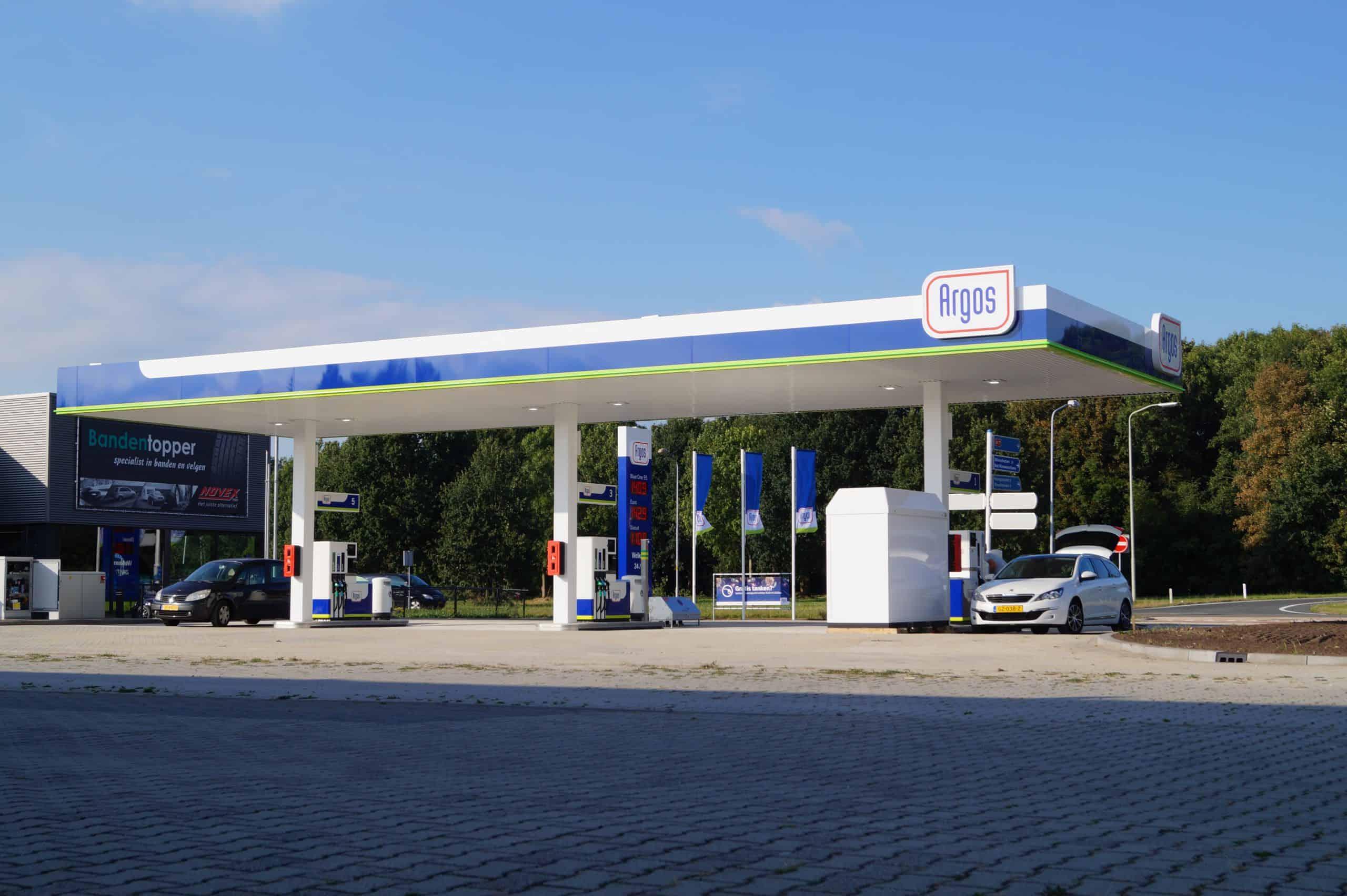 Tankstation Argos Kolhalm