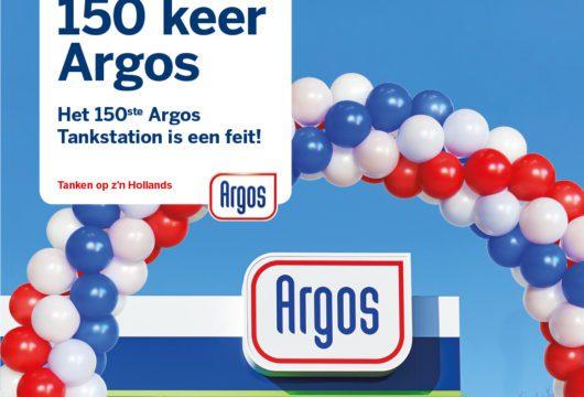 Nu 150 Argos Tankstations in Nederland! Tijd voor een feestje!