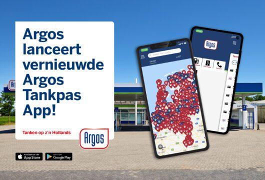 De Argos Tankpas App – wij zijn altijd dichtbij!